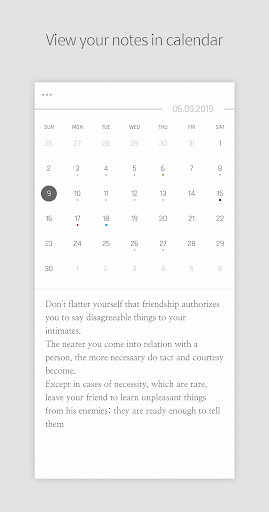 DAILY NOTE - Day Note, Diary screenshot 2