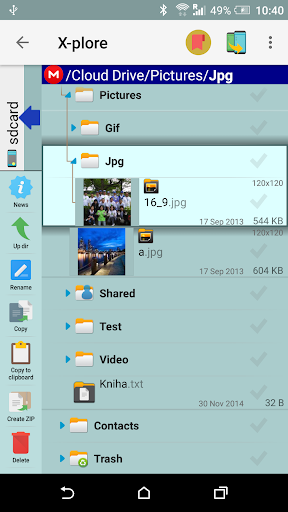 X-plore File Manager screenshot 8
