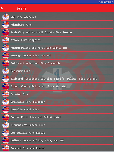 Fire and EMS Scanners screenshot 8
