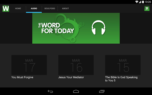 The Word For Today screenshot 5