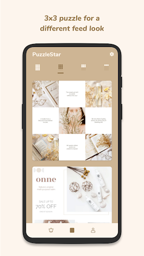 Puzzle Collage Template for Instagram screenshot 2
