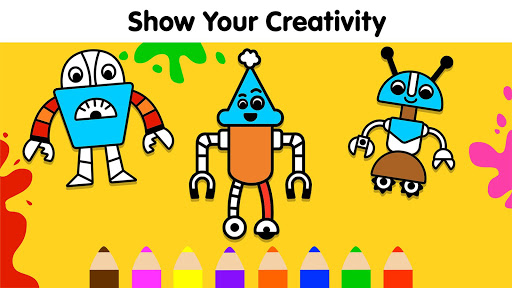 Coloring Games for Kids: Baby Drawing Book & Pages screenshot 3
