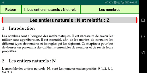 Maths Seconde screenshot 5