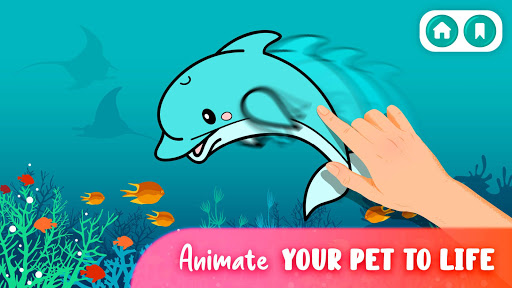 Animal Coloring Book - Coloring pages for kids screenshot 2