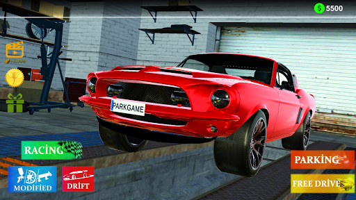 Mustang Classic Parking & Racing Simulator 2021 screenshot 1