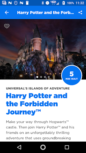 Universal Orlando Resort™ The Official App screenshot 1