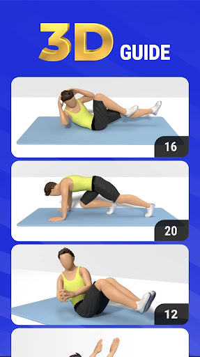 30 Days Six Pack Workout at home screenshot 2