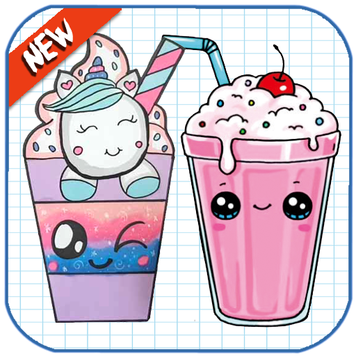How To Draw Cute Sweet Drinks screenshot 1