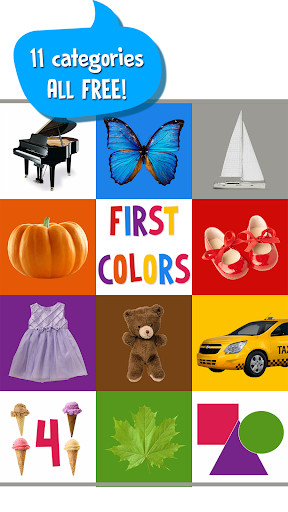 First Words for Baby: Colors screenshot 1