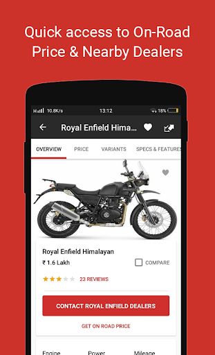 🏍 BikeDekho - New Bikes, Scooters Prices, Offers screenshot 2