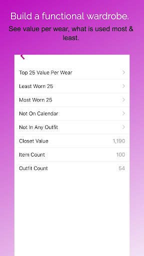 Pureple Outfit Planner screenshot 6