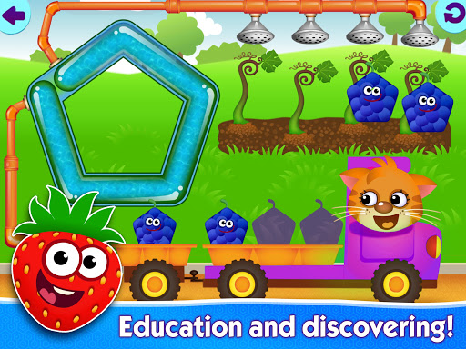 Funny Food educational games for kids toddlers 屏幕截图 13
