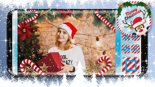 Christmas photo editor screenshot 2