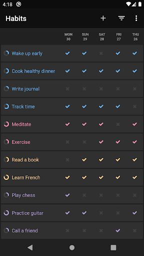Loop Habit Tracker screenshot 5