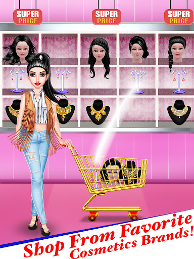 Superstar Fashion Stylist Dress up screenshot 22