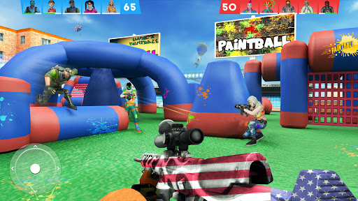 Paintball Shooting Games 3D screenshot 1