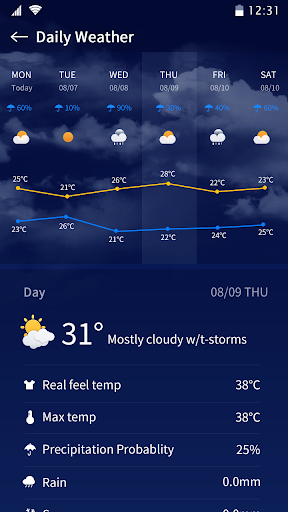Weather - Accurate Weather Forecast screenshot 4