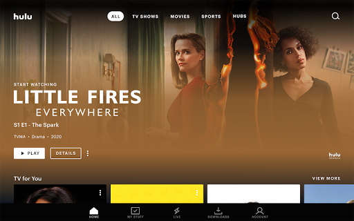 Hulu: Stream all your favorite TV shows and movies screenshot 5