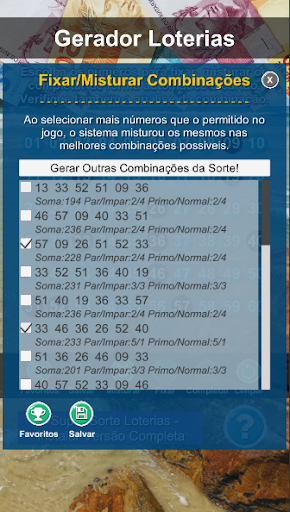 Gerador Loterias screenshot 5