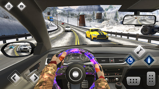 Highway Driving Car Racing Game screenshot 5