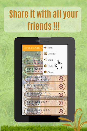 Horses Sounds for Cell Phone free. screenshot 6