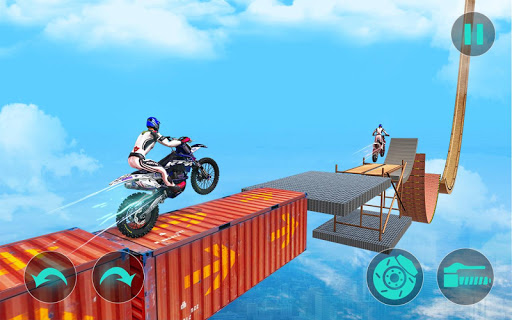 New Bike Stunts Game: Impossible Bike Stunts screenshot 19