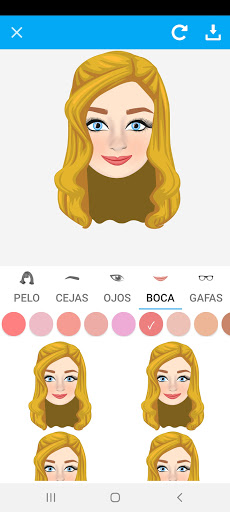 Avatarly: crear avatar emoji para Wastickerapps screenshot 4