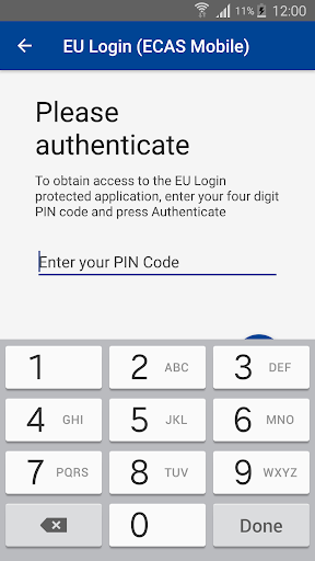 EU Login screenshot 3