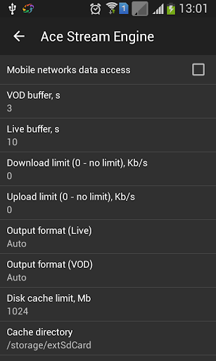 Ace Stream Engine for Android TV screenshot 2