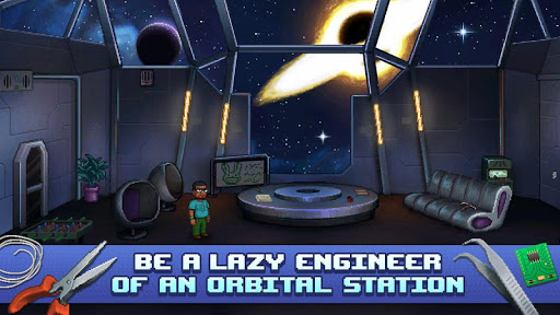 Lost in Space and Time-Point and Click Pixel Quest screenshot 1