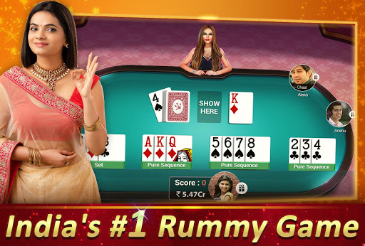 Rummy Gold (With Fast Rummy) -13 Card Indian Rummy screenshot 2