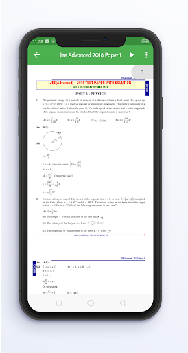 14 Years JEE Advanced Solved Papers Offline screenshot 6