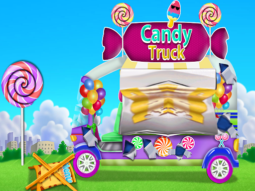 Candy Girl Salon Makeover - Candy Cooking Game screenshot 11