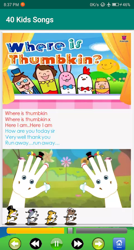 kids song - best offline nursery rhymes screenshot 7