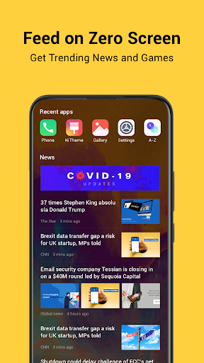 HiOS Launcher(2021) screenshot 1