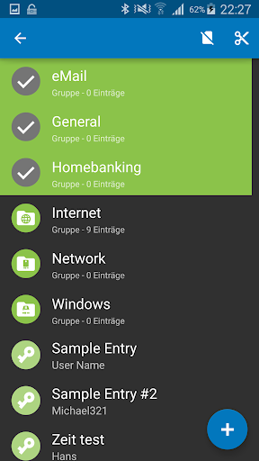 Keepass2Android 屏幕截图 8