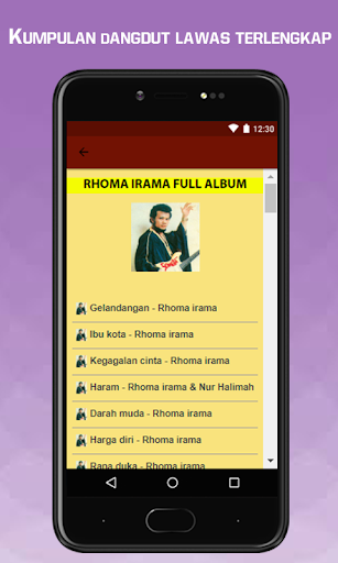 Dangdut Lawas Terlengkap screenshot 16
