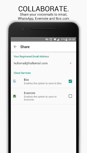 HulloMail Voicemail screenshot 4