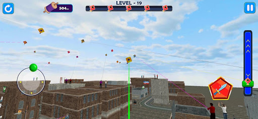 Indian Kite Flying 3D screenshot 1