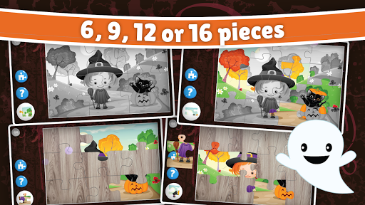 Halloween Puzzle for kids & toddlers 🎃 屏幕截图 2