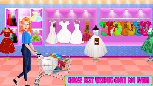 Mall Shopping with Wedding Bride - Dressing Store screenshot 1