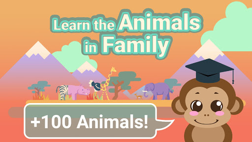 Animals in Family 屏幕截图 1