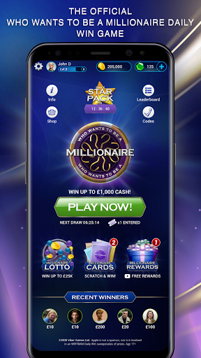 Who Wants to be a Millionaire screenshot 1