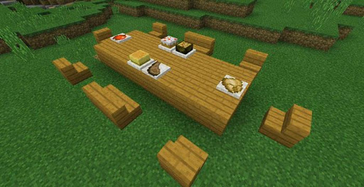 Decorations and Furniture Mod for Minecraft PE 屏幕截图 3