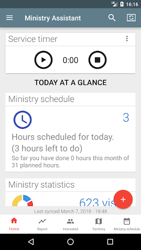 Ministry Assistant screenshot 1