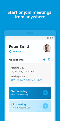 AnyMeeting Video Conferencing & Online Meeting screenshot 2