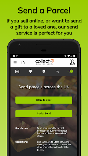 CollectPlus Delivered by Yodel screenshot 8