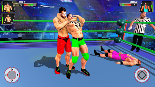 Real Ring Fight Wrestling Championship Games 2020 screenshot 4