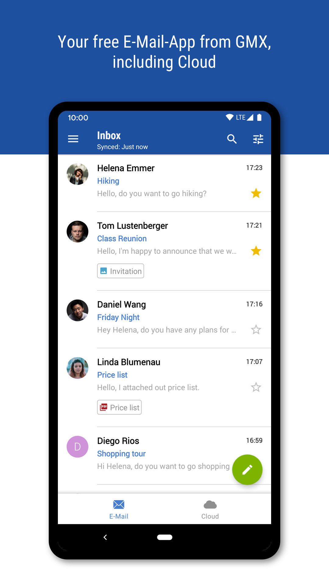 GMX - Mail & Cloud APK - Download App on Android Freeware