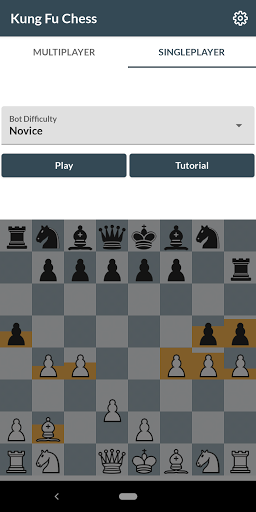 Kung fu chess - Online real-time chess w/o turns♟️ screenshot 4
